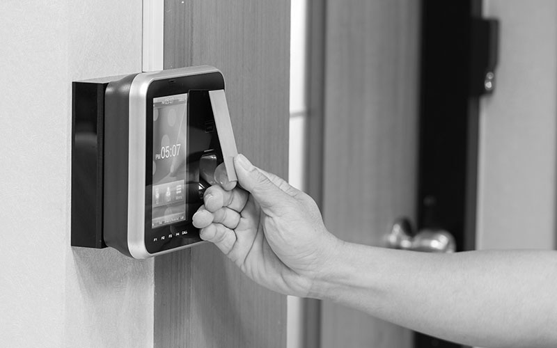 Access Control Security System Solution For Aspire