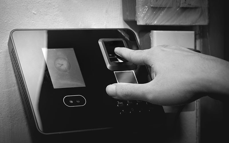 Access Control System Implemented by TechnoQ