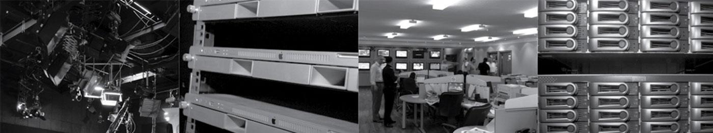 Broadcast video server system for Al Kass channel