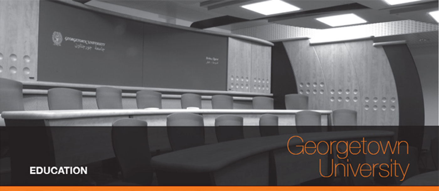 Conference Room Solution for Georgetown University