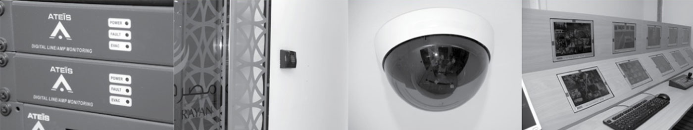 CCTV and Access Control Security System by Techno Q