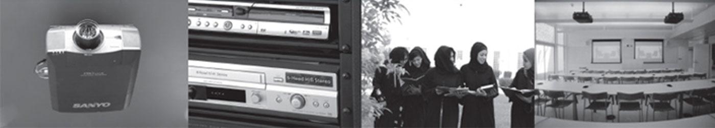 TechnoQ Audio visual solution for QU